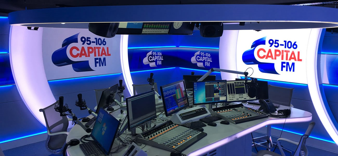 Capital FM London studio