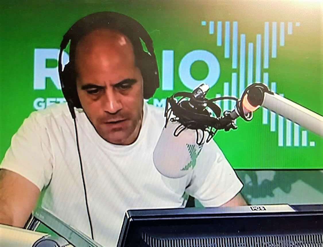 Philip Chryssikos on Radio X