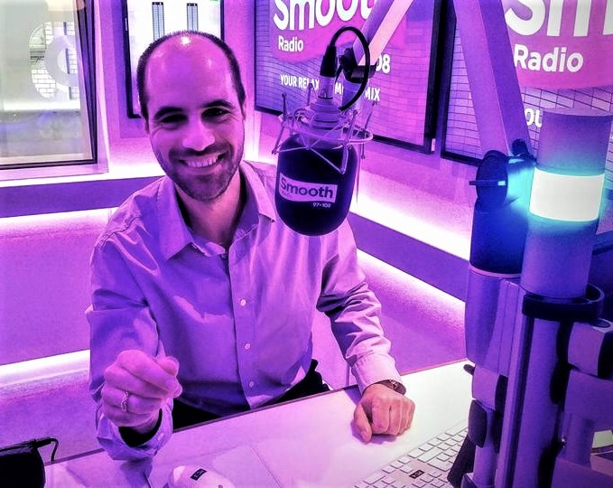 Philip Chryssikos on Smooth Radio