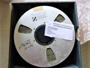 Recordings of Bob Marley recording of Bob Marley's concert
