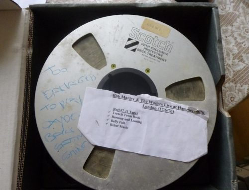 Basement Rescue: Lost Bob Marley Tapes Restored