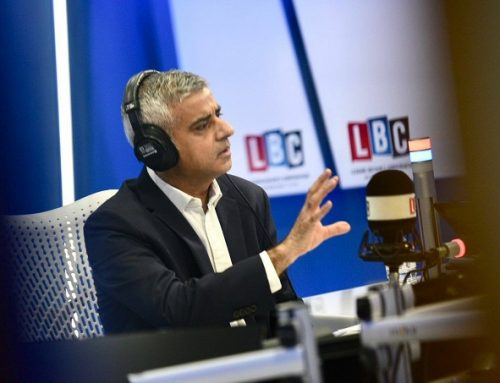 "Mayor of London Explains Donald Trump ""Playing Golf"" Comment"