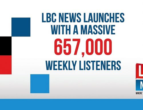 LBC News Stunning Launch With 657,000 Radio Listeners